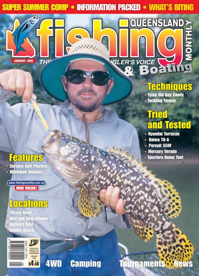 Queensland Fishing Monthly - January