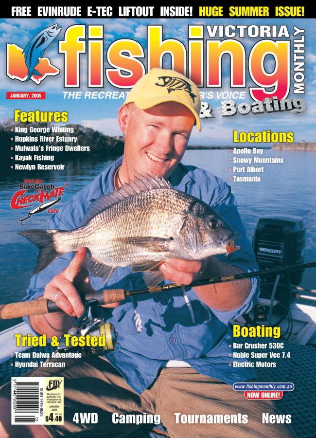 Victoria Fishing Monthly - January
