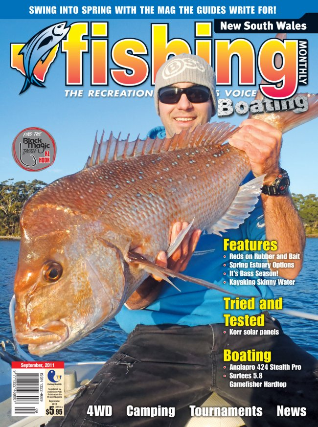 New South Wales Fishing Monthly - September