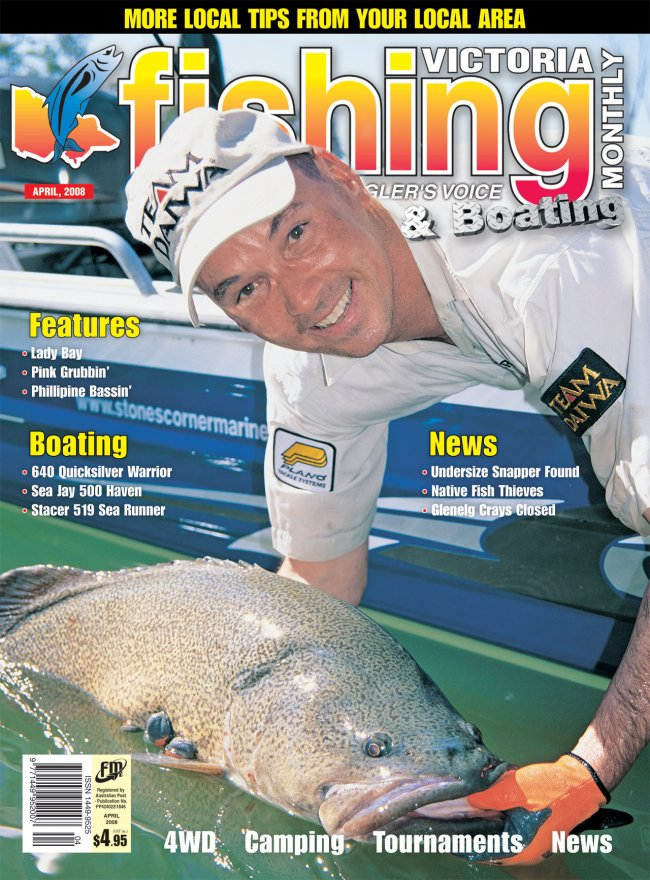 Victoria Fishing Monthly - April