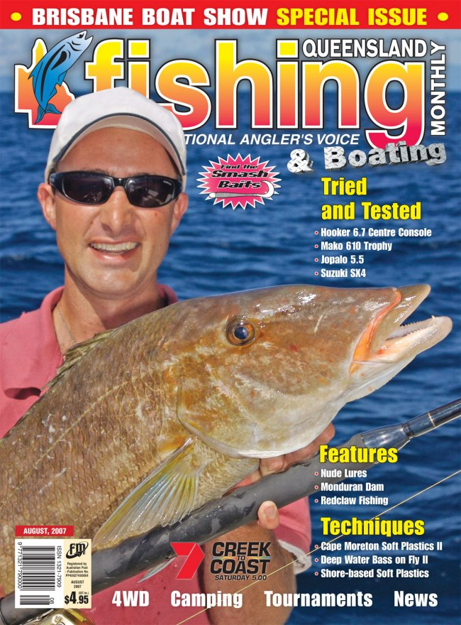 Queensland Fishing Monthly - August