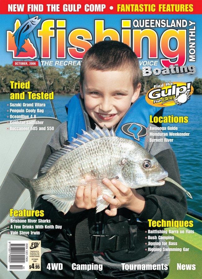 Queensland Fishing Monthly - October