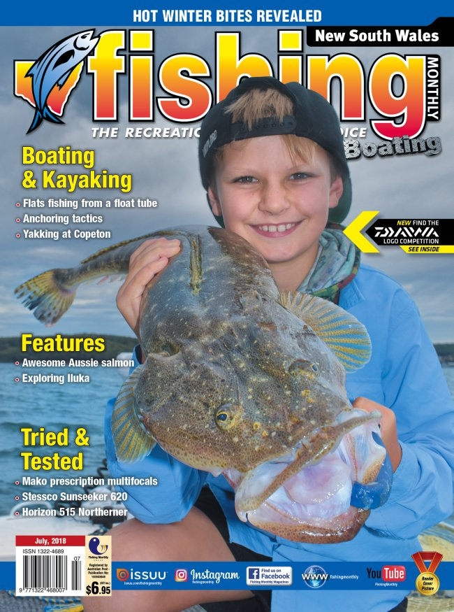 New South Wales Fishing Monthly - July