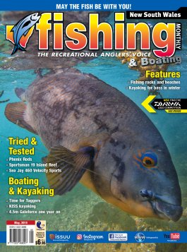 New South Wales Fishing Monthly - May