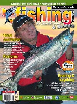 Victoria Fishing Monthly - August