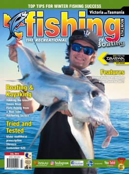 Victoria Fishing Monthly - July