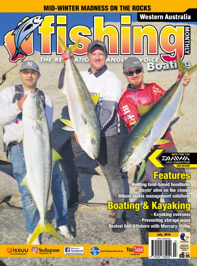 Western Australia Fishing Monthly - July
