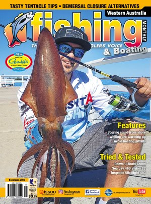 Western Australia Fishing Monthly